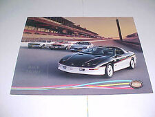 1993 Camaro pace car poster with 1967/1969/1982 pace cars-poster #1