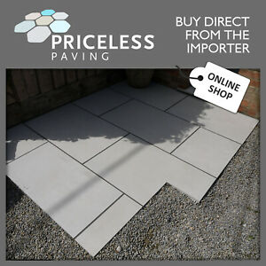 Porcelain Paving Off White Light Rectified Vitrified 900x600x20mm FLORIAN 1m2