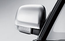 Shogun Short Wheel Base 07-On Mirror Covers Chrome
