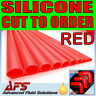 CUT RED 60mm I.D 2 3/8 ID Straight Silicone Hose Venair Silicon Radiator Pipe uk