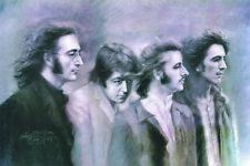 The Beatles Faces art print poster print