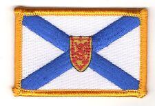Toppe Toppa PATCH NUOVA SCOZIA CANADA PROVINCE Bandiera ricamata termoadesivo