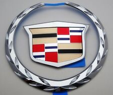 NEW Cadillac DTS 2006 2007 2008 2009 2010 2011 GRILLE WREATH & CREST EMBLEM