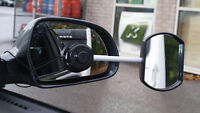 2 Caravan & Trailer Towing Car Safety Glass Suction Wing Mirror Extensions