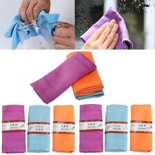 6Pcs Water Absorbable Kitchen Glass Cleaning Cloth Table Wipes Window 30 * 40Cm