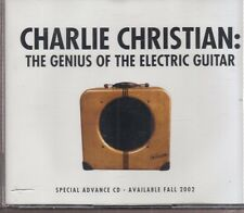 Charlie christian the genius of the electric guitar 4x cd promo