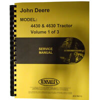 One New Service Manual Fits John Deere 4430, 4630 Fits JD-S-Tm1172{82011}