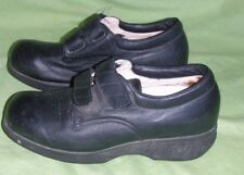 Apex Ambulator Black Leather Womens Size 8 M Diabetic Extra Depth Orthotic  Shoes eb5d6ca167f