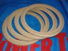 4 ANELLI Supporto Altoparlante Woofer Anello Legno MDF 250 mm 25 cm  incavo