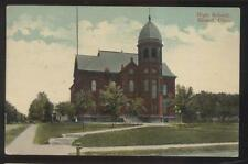 Postcard GIRARD Ohio/OH  Local Area High School Campus Building view #1 1907