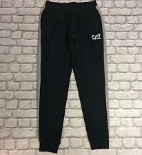 Emporio armani EA7 homme uk xl noir gris panneau bas jogging pantalon de jogging