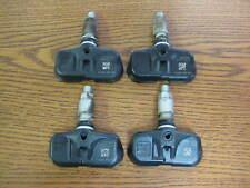 Set of 4 Four Toyota Lexus Scion Genuine OEM TPMS Tire Pressure Sensors PMV-107J