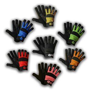 Mechanics Work Gloves Washable Safety Protection Air Mesh Builder Gardening
