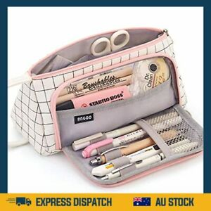 EASTHILL Pencil Case Big Capacity Storage Pouch Stationery Bag AU
