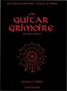 GUITAR GRIMOIRE SCALES & MODES BLACK COVER KADMON