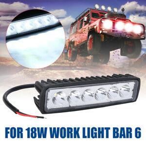 Super Bright Practical Bar Reversing Car Flood Lamp LED Work Light Auto Bulb UK