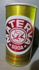 MATERVA_ MIAMI FLORIDA_ STRAIGHT STEEL SODA CAN    -[READ DESCRIPTION]-