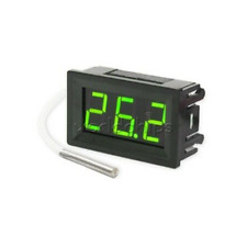 Dc 12v Digital Led Thermometer Probe Temperature Meter K Type Thermocouple
