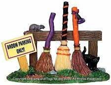 Lemax 44737 BROOM PARKING RACK Spooky Town Accessory Village Halloween Decor O I