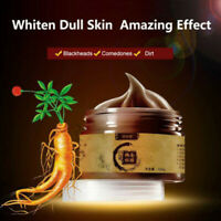 Ginseng Mask Transitional Herbal Ginseng Black Head Peel Off Mask Masker 120g