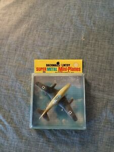 Vintage Bachmann Lintoy Super Metal Mini Plane MESSERSCHMITT 262