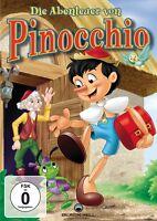 ANIMATED - DIE ABENTEUER VON PINOCCHIO   DVD NEU