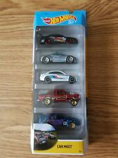 Hot Wheels Car Meet 5 Pack incl Mustang Eclipse BMW Bel Air Gasser Subaru