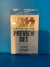 1997 KISS Limited Edition Preview Set of 9 Trading Cards /15000 Sealed Mint