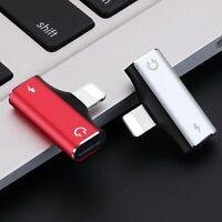 Adaptateur Connecteur Lightning Chargeur Ecouteur Pour iPhone iPad 6 7 8 x xs 11
