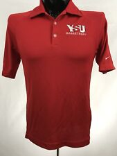 Youngstown State Penguins basketball mens shirt Nike golf polo polyester red S