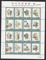 China Macau Macao 2005 Mini S/S Scenes of Daily Life in Past II Stamps 昔日風情 II