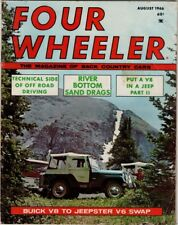 Four Wheeler The Magazine Of Back Country Cars,  August 1968