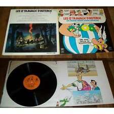 GERARD CALVI - Les 12 Travaux D'Asterix French LP Uderzo W/Booklet NM