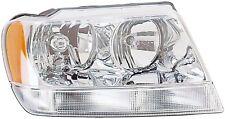 FITS 1999-2004 JEEP GRAND CHEROKEE PASSENGER RIGHT HEADLIGHT LAMP ASSEMBLY