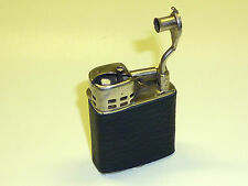 CLARK LIFTARM LIGHTER WITH LEATHER COAT - FEUERZEUG - 1930 - MADE IN U.S.A.