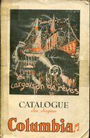MUSIQUE CATALOGUE GENERAL DISQUES COLUMBIA 1936 - 2 -