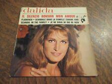 45 tours DALIDA il silenzio (bonsoir mon amour)