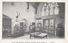 London Postcard. Home & Colonial Training. Library. Wood Green.  Haringey. 1910