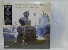 My Chemical Romance  May Death Never Stop You COLORED VINYL LP HOT TOPIC + DVD