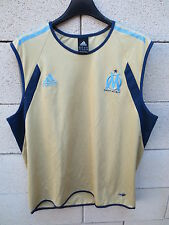 Maillot Débardeur entrainement OM MARSEILLE Adidas shirt L XL