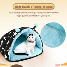 US Fur Pet Calming Bed Dog Beds Soft Warmer Medium Small Dogs Cats Dog Nest Mat