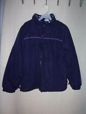 Pre-Owned Girls Arizona Purple Lightweight Reversible Coat Size Medium (10-12)