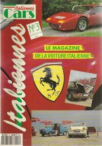 ITALIENNES CARS 3 FERRARI 250LM LANCIA AURELIA B20 S VESPA 400 FERRARI BB 512