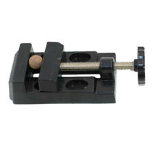 New Portable Tool Drill Press Precision Bench Vise Flat Clamp On Table Vise 17