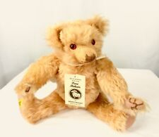 Merrythought Mohair Teddy Bear Growler England  Jointed Tags Limited & Signed