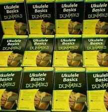 Lot 10 How To Book Play Ukulele Basics For Dummies & Cd Bulk School teacher #4