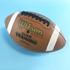 Wilson Wtf1245 Ncaa Slick Training FootBall Official Size Leather #U9103