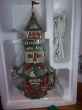 Dept.56 North Pole Santa's Lookout Tower NEW in Box Retired