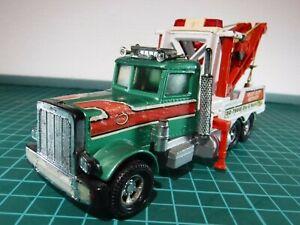 Matchbox Superkings K-20 Peterbilt Tow Recovery Wrecker Truck