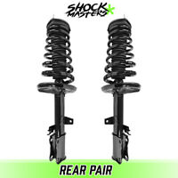 Rear Pair Quick Complete Struts & Coil Springs for 1997-2001 Toyota Camry 4CYL